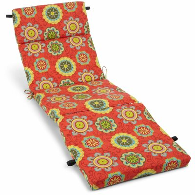 Farmington Outdoor Adirondack Chair Cushion Fabric: Farmington Terrace Grenadine