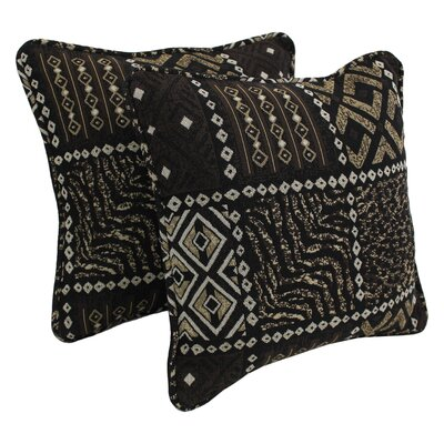 Tapestry Throw Pillow Fabric: Congo