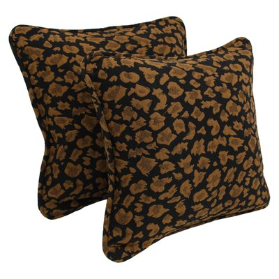 Exotic Tapestry Throw Pillow Pattern: Cheetah