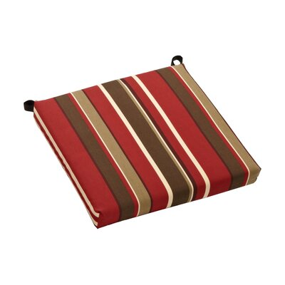 Sangria Outdoor Adirondack Chair Cushion