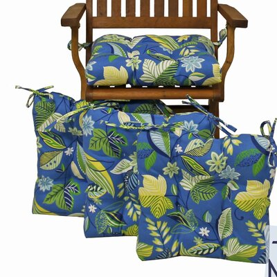 Outdoor Adirondack Chair Cushion Fabric: Skyworks