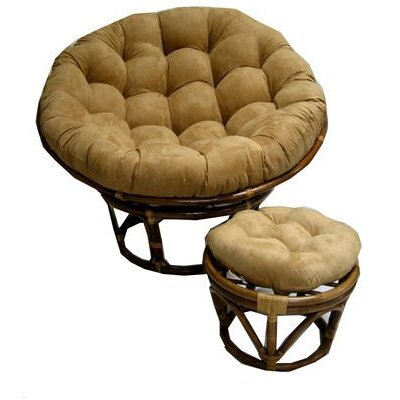 Blazing Needles Oversize Papasan Cushion - Color: Micro Suede - Camel at Sears.com