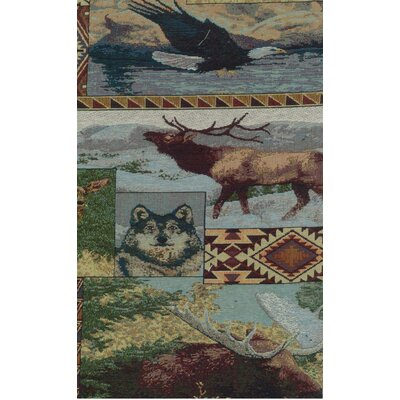 Tapestry The Wild North Futon Slipcover Size: 8