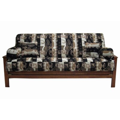 Elysian Fields Box Cushion Futon Slipcover Set Cover Set: 5 piece