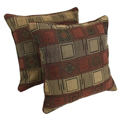 Jacquard Indoor Chenille Floor Pillow
