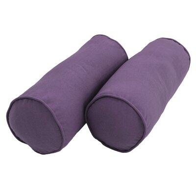 Bolster Pillow Color: Grape