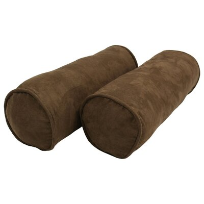 Bolster Pillows Color: Chocolate