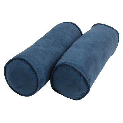 Bolster Pillows Color: Indigo