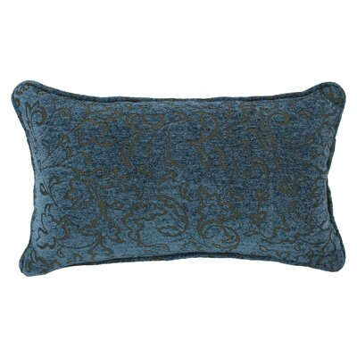 Floral Jacquard Chenille Lumbar Pillow