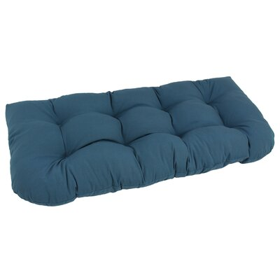 Bench Cushion Color: Navy