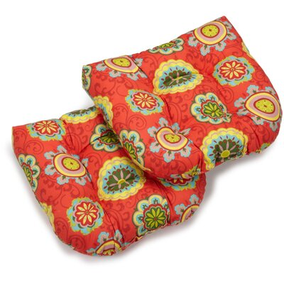 Outdoor Lounge Chair Cushion Fabric: Farmington Terrace Grenadine