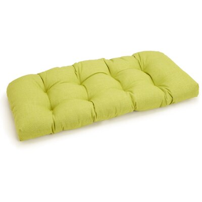 Outdoor Bench Cushion Fabric: Lime