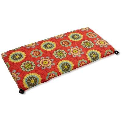 Farmington Outdoor Bench Cushion Fabric: Farmington Terrace Grenadine, Size: 3.5 H x 51 W x 19 D