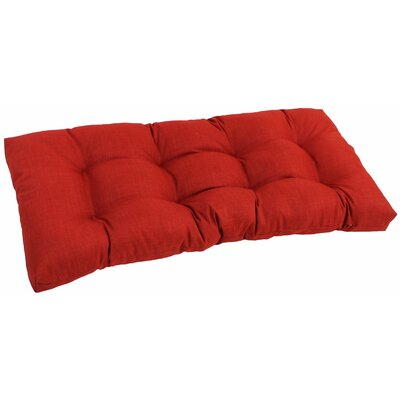 Outdoor Loveseat Cushion Fabric: Papprika