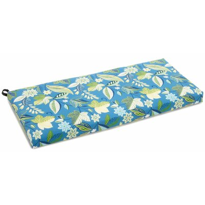 Skyworks Outdoor Bench Cushion Size: 3.5 H x 48 W x 19 D, Fabric: Skyworks Caribbean