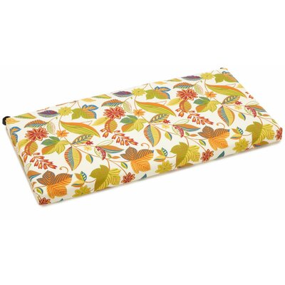 Skyworks Outdoor Bench Cushion Fabric: Skyworks, Size: 3.5 H x 57 W x 19 D