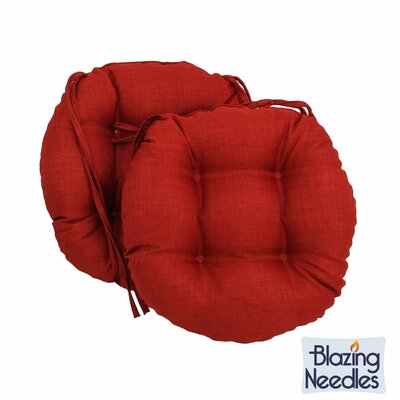 Outdoor Chair Cushion Fabric: Paprika