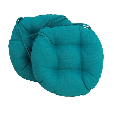 Outdoor Chair Cushion Fabric: Azule