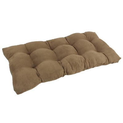 Bench Cushion Color: Saddle Brown