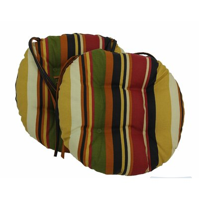 Outdoor Patio Chair Cushion Color: Lyndhurst Raven