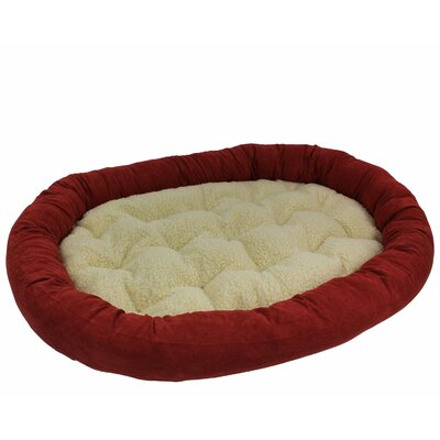 Microsuede Large Dog Sofa Color: Saddle Brown