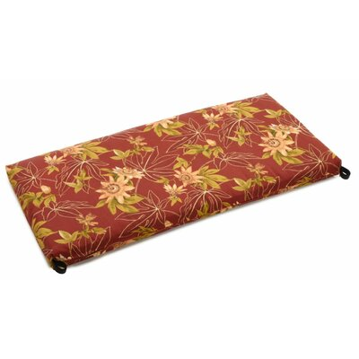 Passion Outdoor Bench Cushion Size: 3.5 H x 57 W x 19 D