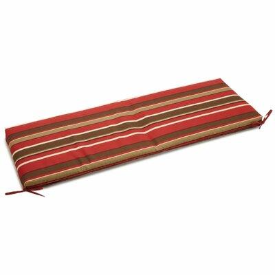 Monserrat Outdoor Bench Cushion Size: 3.5 H x 51 W x 19 D