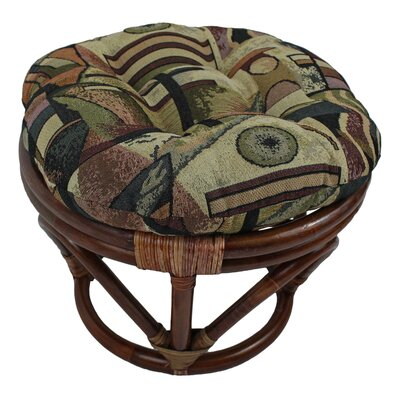 Papasan Ottoman Cushion Fabric: Picasso