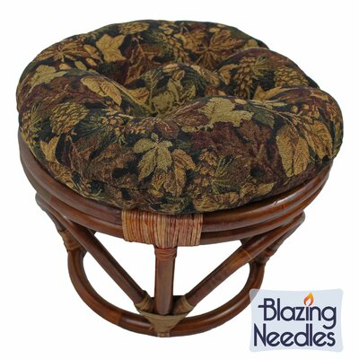 Papasan Ottoman Cushion Fabric: Palm Springs