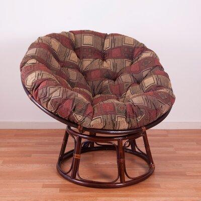 Chenille Papasan Chair Cushion Fabric: Tetris