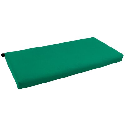 Indoor Bench Cushion Fabric: Red