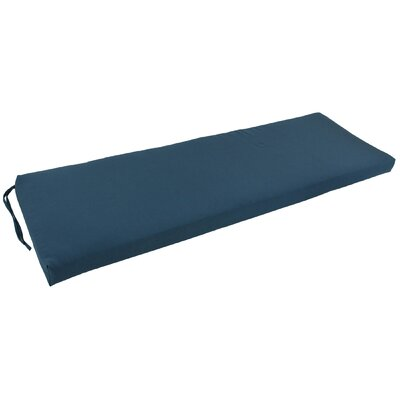 Bench Cushion Fabric: Black