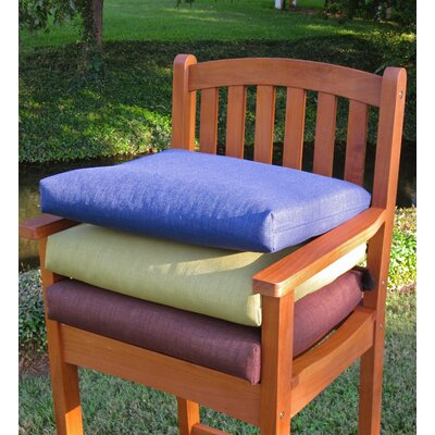 Floral Outdoor Adirondack Chair Cushion