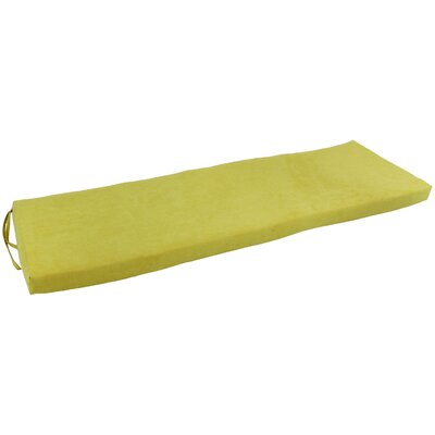 Micro Suede Indoor Bench Cushion Fabric: Mojito Lime