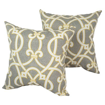 Designer Outdoor Throw Pillow