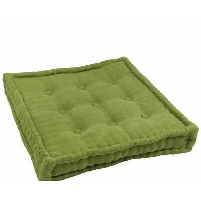 Microsuede Floor Pillow Color: Mojito Lime