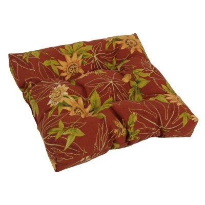 Designer Patio Rocking Chair Cushion Fabric: Passion Ruby