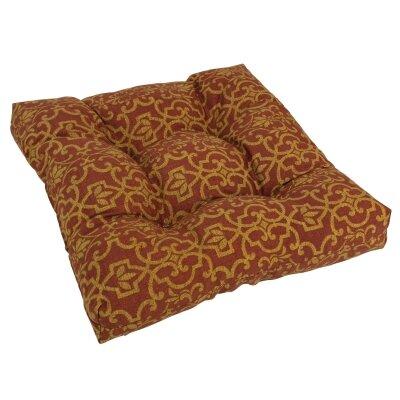 Designer Patio Rocking Chair Cushion Fabric: Vanya Paprika