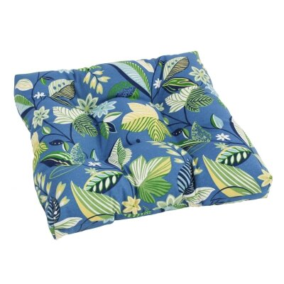 Designer Patio Rocking Chair Cushion Fabric: Skyworks Caribbean
