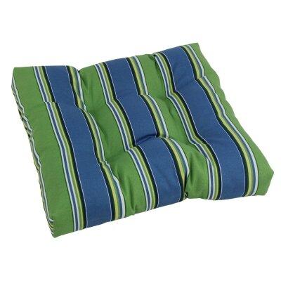 Designer Patio Rocking Chair Cushion Fabric: Haliwell Caribbean