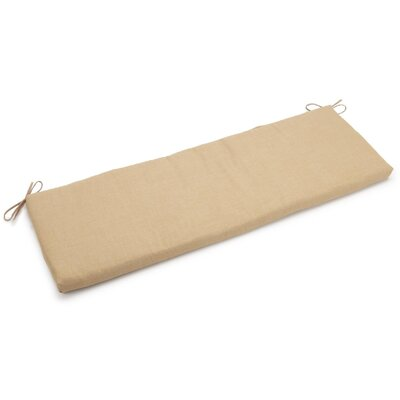 Outdoor Bench Cushion Fabric: Sandstone