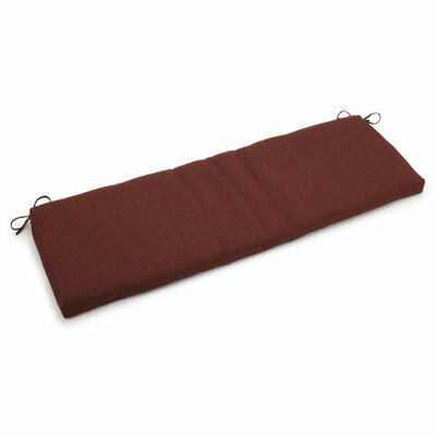 Outdoor Bench Cushion Fabric: Cocoa