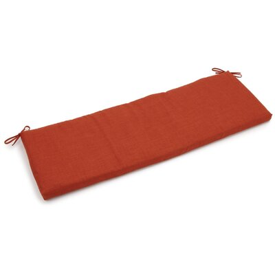 Outdoor Bench Cushion Fabric: Cinnamon