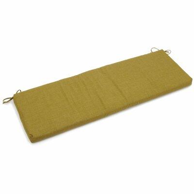 Outdoor Bench Cushion Fabric: Avocado