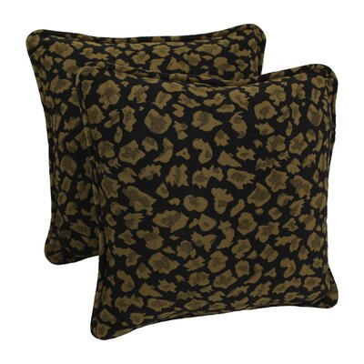Tapestry Throw Pillow Fabric: Cheetah