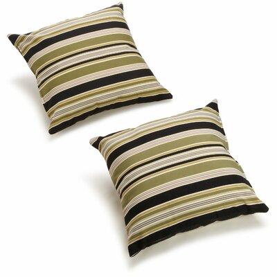 Throw Pillow Color: Eastbay Onyx