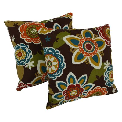 Throw Pillow Color: Annie Chocolate