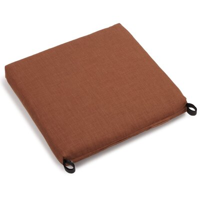 Solid Outdoor Adirondack Chair Cushion Fabric: Mocha