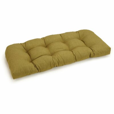 Outdoor Loveseat Cushion Fabric: Wheat