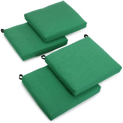 Outdoor Adirondack Chair Cushion Fabric: Emerald